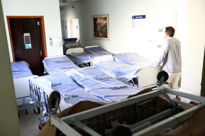 Uma incursão pelo Beneficência Portuguesa, o hospital com 201 leitos e só dois pacientes