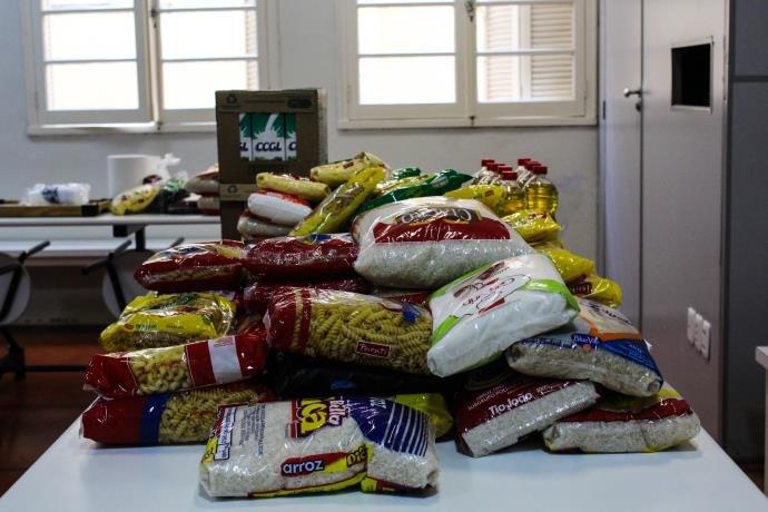 Hospital Divina Providência recebe alimentos de entidades de Frederico Westphalen