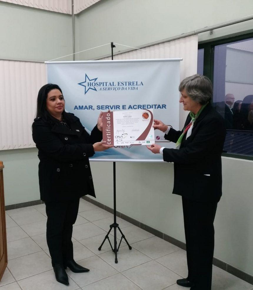 Hospital Estrela conquista ACREDITAÇÃO HOSPITALAR