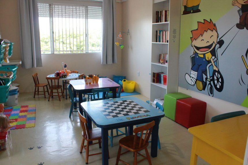 HSC disponibiliza sala de recreação às crianças internadas na Pediatria