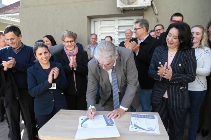Hospital de Santa Rosa conquista acreditação hospitalar