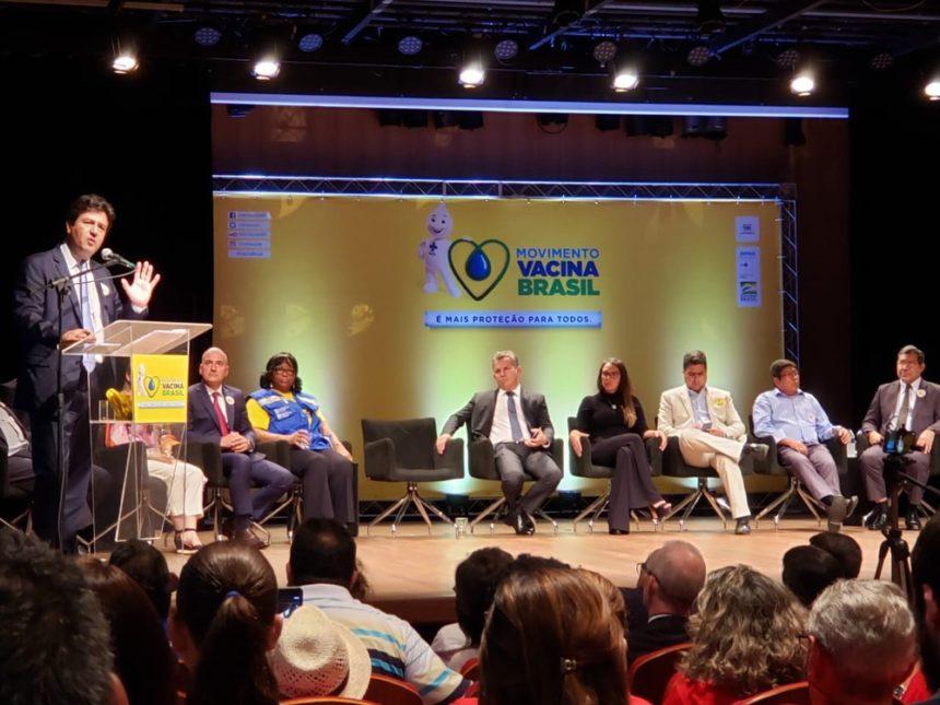 Em Cuiabá, ministro da Saúde defende cooperação internacional para aumentar vacinação nas fronteiras