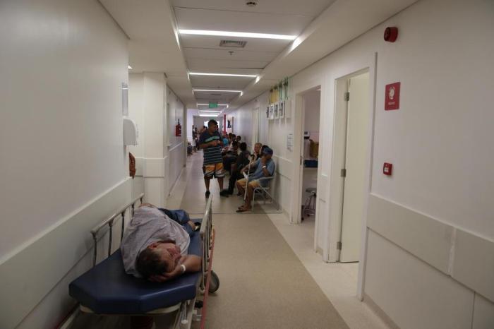 Emergências de Porto Alegre operam no limite da capacidade, informa Secretaria da Saúde