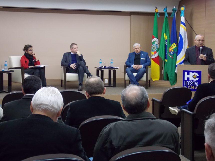 Hospital de Clínicas de Passo Fundo sedia encontro entre Federação de Hospitais Filantrópicos do RS e instituições de saúde da região