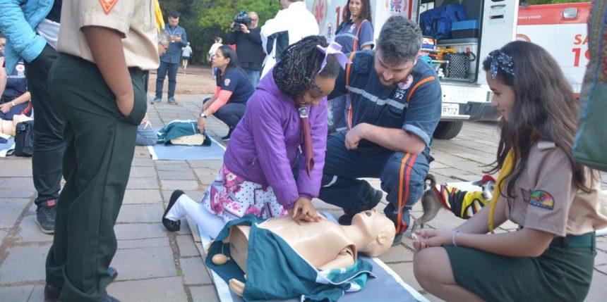 Samu prepara aplicativo com cadastro de voluntários para atender parada cardiorrespiratória