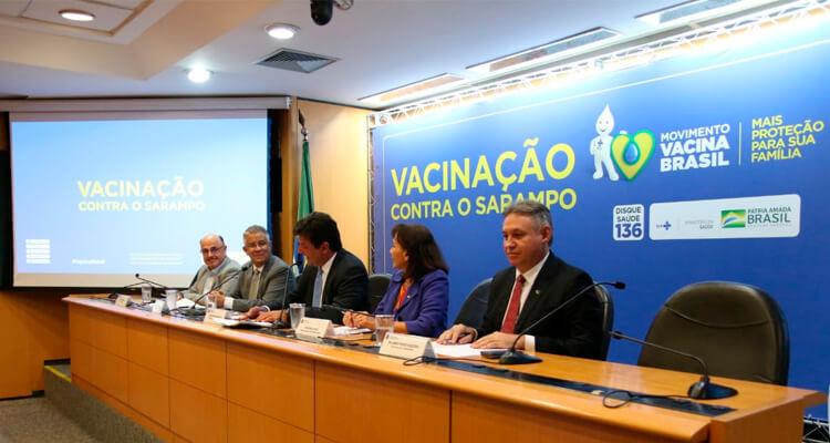 Mais de 3 milhões de crianças e jovens devem se vacinar contra o sarampo