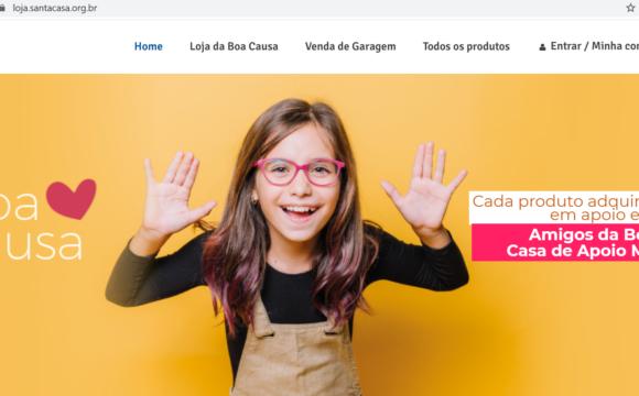 Santa Casa de Porto Alegre lança loja virtual beneficente